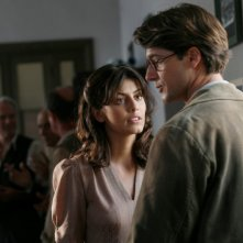 Alessandra Mastronardi e Ettore Bassi nella miniserie Sotto il cielo di Roma