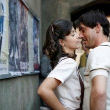 Alessandra Mastronardi e Marco Foschi nella miniserie Sotto il cielo di Roma