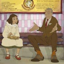 Alice e l'intrattenitore nel film The Illusionist