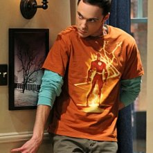 Jim Parsons nell'episodio The Desperate Emanation di The Big Bang Theory