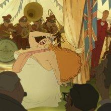 Una scena divertente del film The Illusionist