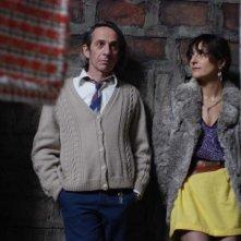 Alfredo Castro e Antonia Zegers, protagonisti del film Post Mortem