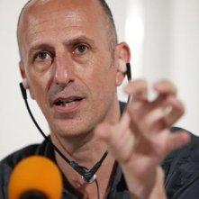 Il regista Agustí Vila alla presentazione del suo La mosquitera al Karlovy Vary International Film Festival