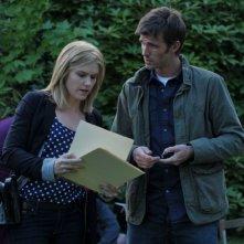 Lucas Bryant ed Emily Rose in un momento dell'episodio Butterfly della serie Haven