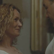Melissa Leo e James Gandolfini in una scena del film Welcome to the Rileys