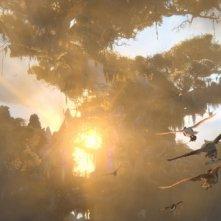 Una scena della battaglia finale del film Il regno di Ga'Hoole: la leggenda dei guardiani