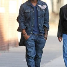 Usher passeggia nel Meatpacking District di Manhattan