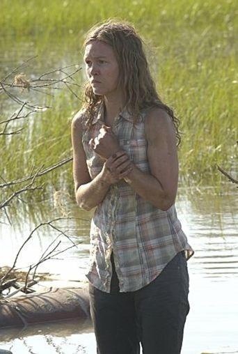 Julia Stiles in una scena dell'episodio Beauty and the Beast di 'Dexter'