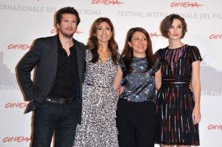 Guillaume Canet, Eva Mendes, Massy Tadjedin e Keira Knightley al festival di Roma 2010 per presentare Last night