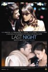 La locandina italiana del film Last night