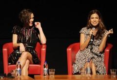 Last Night: Keira Knightley ed Eva Mendes regine di cuori a Roma 2010