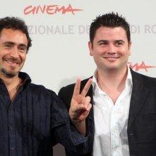 Demian Bichir e il regista Ian Power presentano The Runway al Festival di Roma 2010