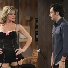 Jonathan Sadowski e Missi Pyle in $#*! My Dad Says nell'episodio Dog Ed Pursuit