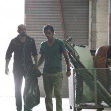 Michael Raymond-James e Maximiliano Hernandez in Terriers in Agua Caliente