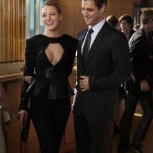 Serena (Blake Lively) e Colin (Sam Page) nell'episodio Easy J di Gossip Girl