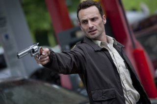 Andrew Lincoln nell'episodio Days Gone Bye di The Walking Dead
