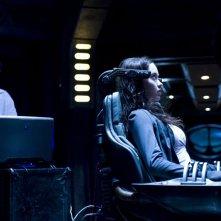 Brody (Peter Kelamis) e Chloe (Elyse Levesque) nell'episodio Pathogen di Stargate Universe