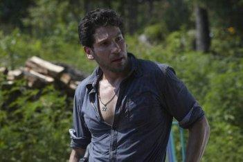 Jon Bernthal nell'episodio Days Gone Bye di The Walking Dead