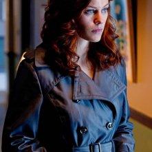 Tess (Cassidy Freeman) in una scena dell'episodio Abandoned di Smallville