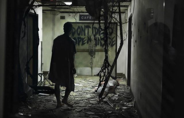 Un momento dell'episodio Days Gone Bye di The Walking Dead