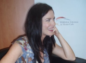 Bridget Regan, interprete di Legend of the Seeker, all'edizione 2010 Television Festival di Monte-Carlo