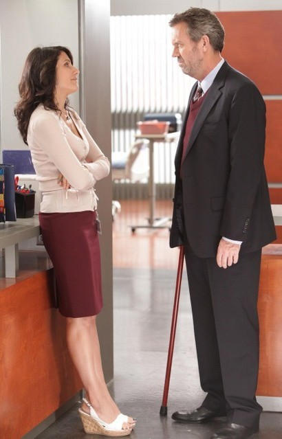 Hugh Laurie Lisa Edelstein In Dr House Medical Division Nell Episodio Small Sacrifices 181433