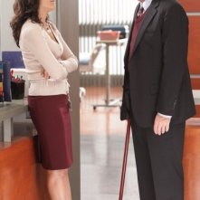 Hugh Laurie, Lisa Edelstein in Dr House: Medical Division nell'episodio Small Sacrifices