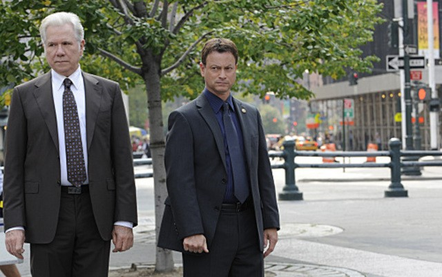 John Larroquette E Gary Sinise In Csi New York Nell Episodio Hide Sight 181323