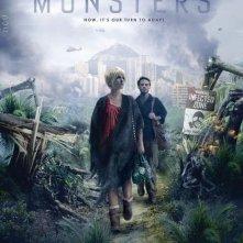 Poster australiano per il film Monsters