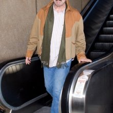 Tom Selleck arriva al Los Angeles International Airport