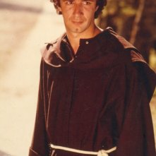 Francesco Nuti vestito da frate
