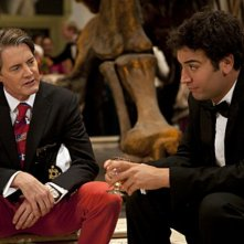 Josh Radnor con la guest star Kyle MacLachlan in una scena dell'episodio Natural History di How I Met Your Mother