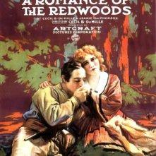 La locandina di A Romance of the Redwoods