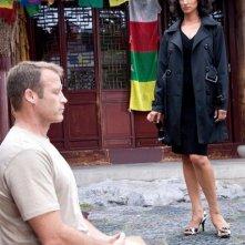 Indira Varma e Mark Valley nell'episodio Ilsa Pucci di Human Target
