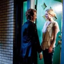 James Franco e Clemence Poesy in una scena del film 127 Hours
