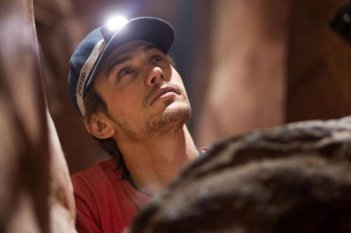 James Franco nel film 127 Hours