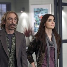 Janet Montgomery e Jackie Earle Haley nell'episodio The Wife's Tale di Human Target