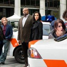 Janet Montgomery, Indira Varma, Mark Valley, Jackie Earle Haley e Chi McBride nell'episodio Ilsa Pucci di Human Target