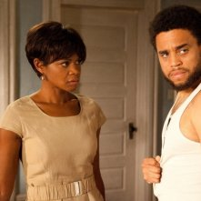 Kimberly Elise e Michael Ealy in una scena del film For Colored Girls Who Have Considered Suicide When the Rainbow Is Enuf