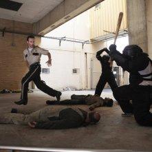 Andrew Lincoln in una scena dell'episodio Una via d'uscita di The Walking Dead