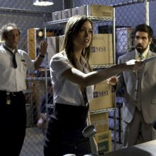 Scott Krinsky, Summer Glau e Joshua Gomez nell'episodio Chuck Versus The Fear of Death
