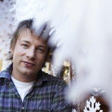 Jamie Oliver in una immagine del programma Jamie's Family Christmas