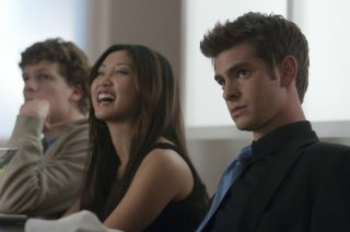Andrew Garfield in un'immagine di The Social Network