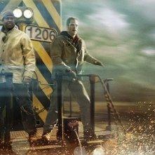 Denzel Washington e Chris Pine, protagonisti di Unstoppable
