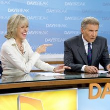 Diane Keaton con Harrison Ford nel film Morning Glory