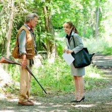 Harrison Ford e Rachel McAdams in un'immagine della commedia Morning Glory