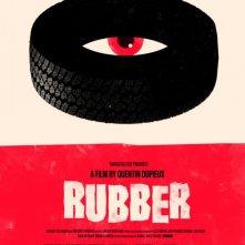 La locandina americana di Rubber