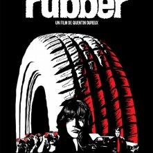 La locandina di Rubber