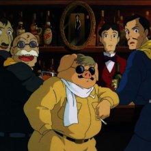 Un'immagine tratta dal film Porco Rosso
