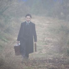 Daniel Radcliffe sul brumoso set di The Woman in Black
